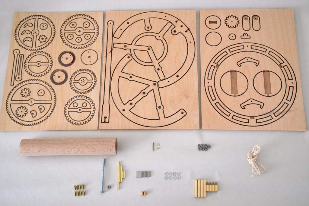 木時計の部品一覧